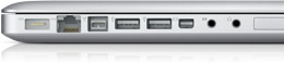 Apple 15 inch MacBook Pro Ports