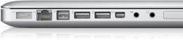 Apple 15 inch MacBook Pro Ports